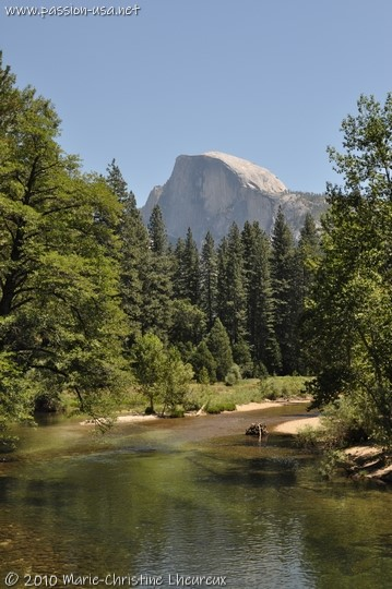 Yosemite, the Half Dome