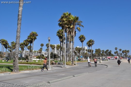 Santa Monica, the seafront