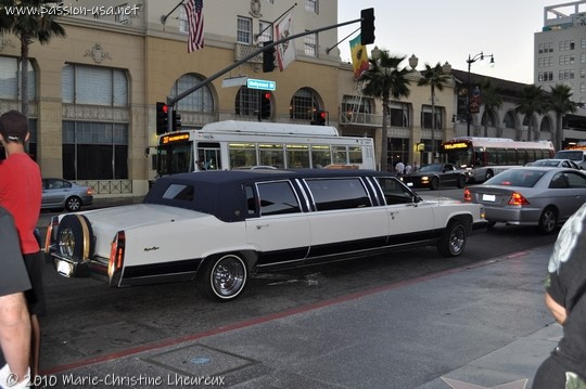 Los Angeles, Hollywood Boulevard, limo