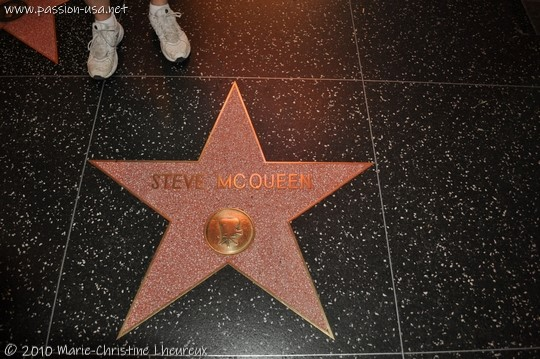 Hollywood Walk of Fame, Steve McQueen