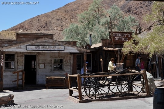 Calico, general store and sheriff's office