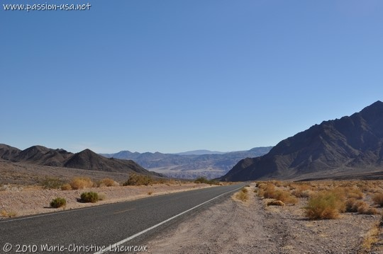 Going down to Death Valley