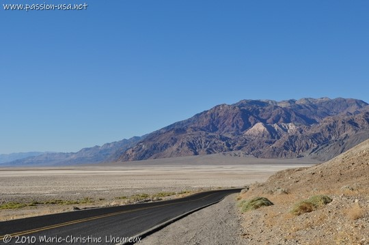 Death Valley, between Ashford Mill and Badwater