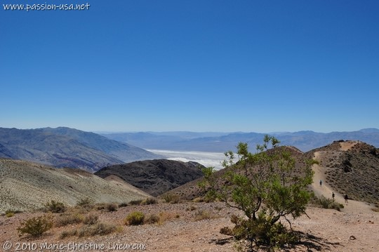 Death Valley, Dante's View, south view