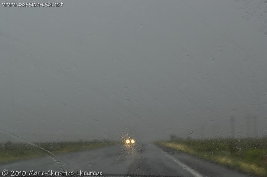 US-89, between Kanab and Page, under the storm