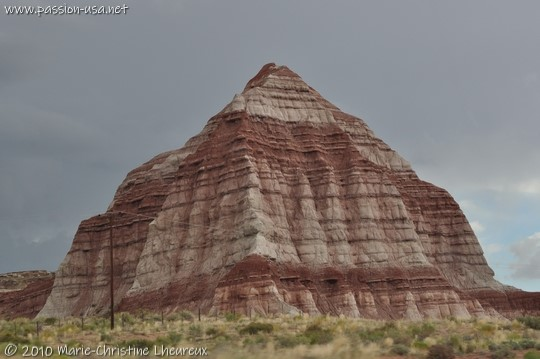 Between Kanab and Page, erosion