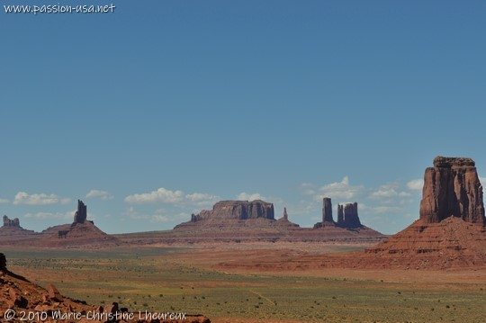 Monument Valley, last glimpse of the Valley