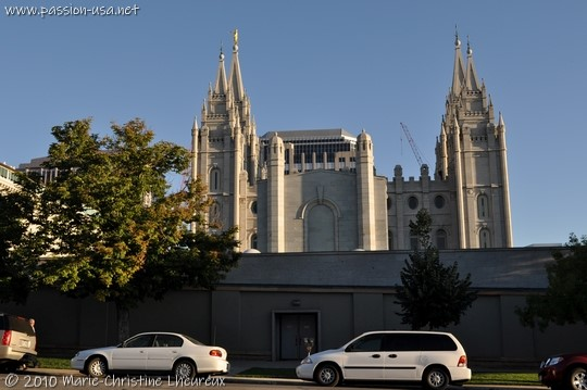 Salt Lake City, Church of Latter-Day Saints, the Temple