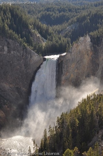 Parc National de Yellowstone, Lower Fall