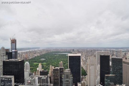 Central Park, seen from Top of the Rock