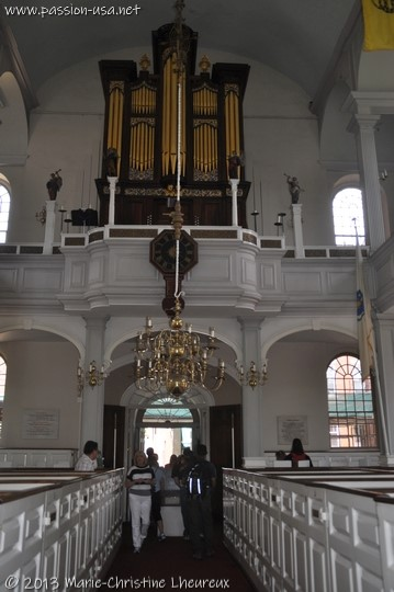 Intérieur de Old North Church, Boston
