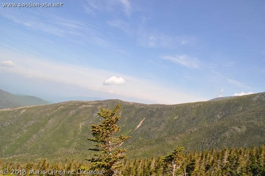 Mount Washington, during the climb