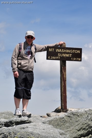 Mount Washington summit, New Hampshire
