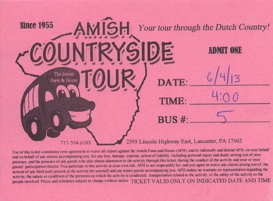 Amish Countryside Tour