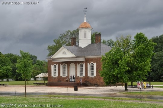 Colonial Williamsburg, Justice of Peace courthouse