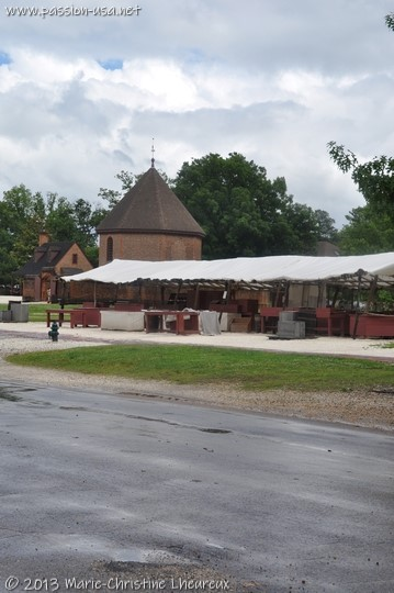 Colonial Williamsburg, the market and the magazine