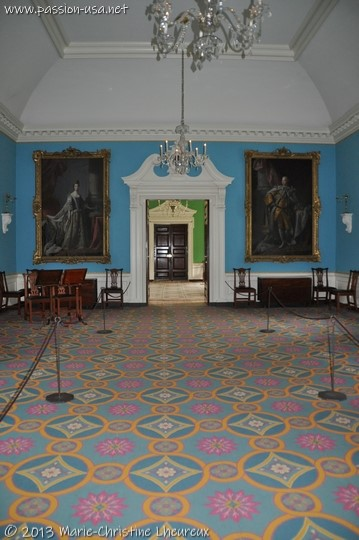 Colonial Williamsburg, Governor's Palace, the ballroom