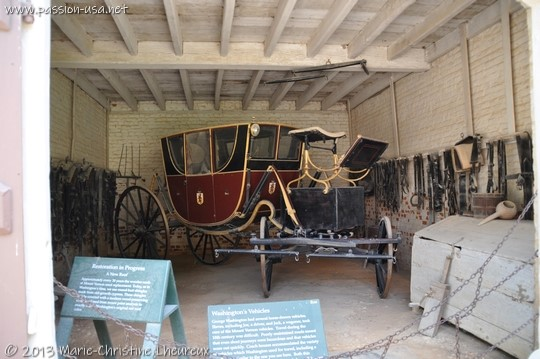 Mount Vernon, one of George Washington's cars