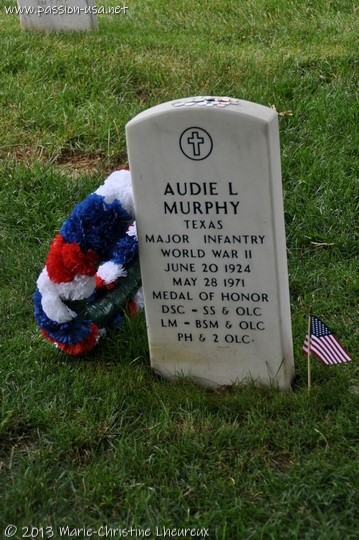 Arlington National Cemetery, Arlington National Cemetery, Audie Murphy's grave  grave of Audie Murphy, the most decorated soldier of WWII