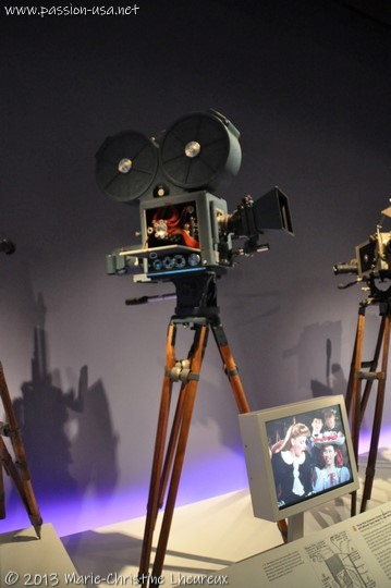 Museum of the Moving Image, motion picture cameras of the 1920s