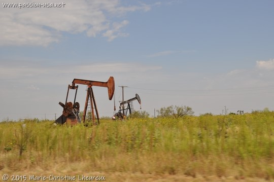 Texas and its oil wells