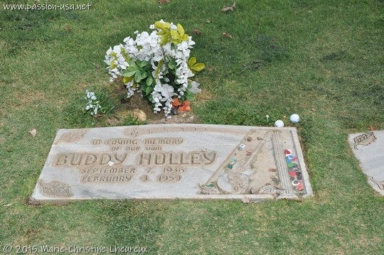 Buddy Holly's grave, Lubbock, TX