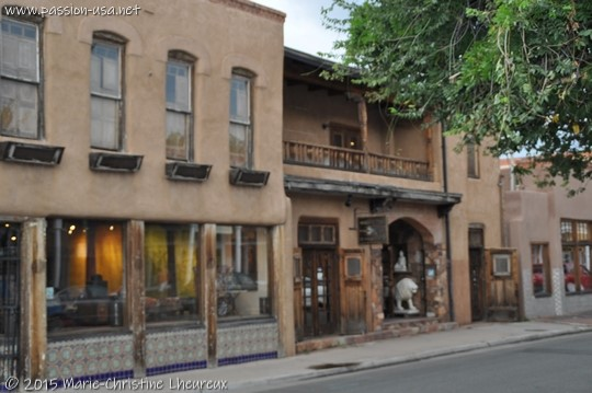 Historic downtown Santa Fe