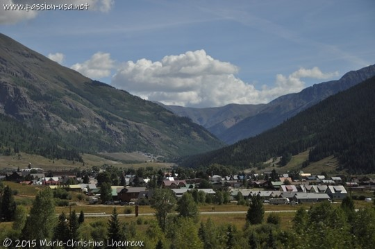 Arrival in Silverton, CO