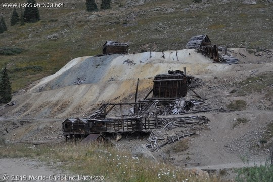 Abandoned mine near Silverton, CO