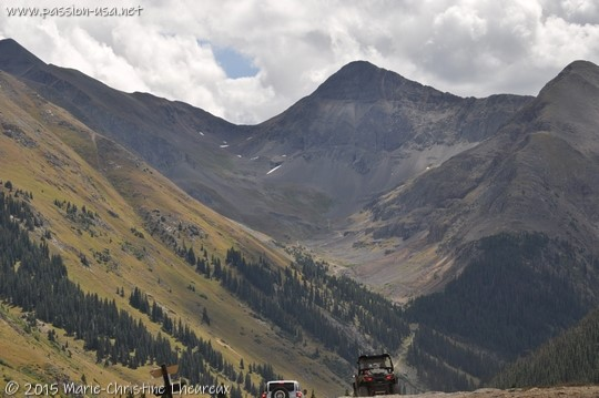 ATVs and alpine scenery near Silverton, CO