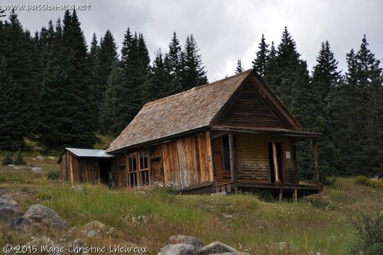 Abandoned house at Animas Forks, CO