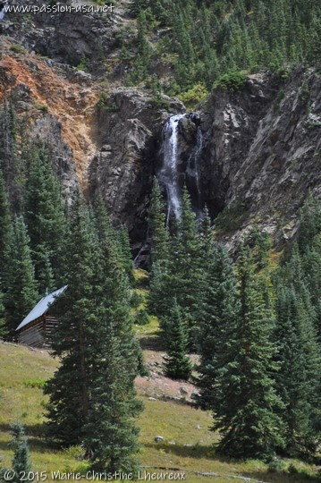 Cascade near Silverton, CO