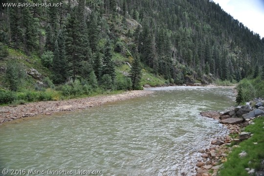 Animas River between Silverton and Durango, CO