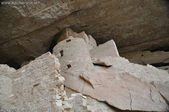 Granary, Cliff Palace, Mesa Verde National Park