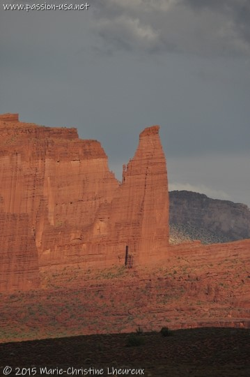 Utah State Route 128, Fisher Towers