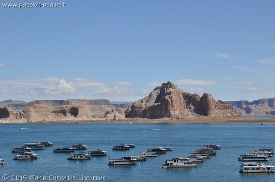 Lake Powell and Wahweap Marina