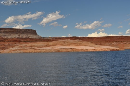 Shore of Lake Powell