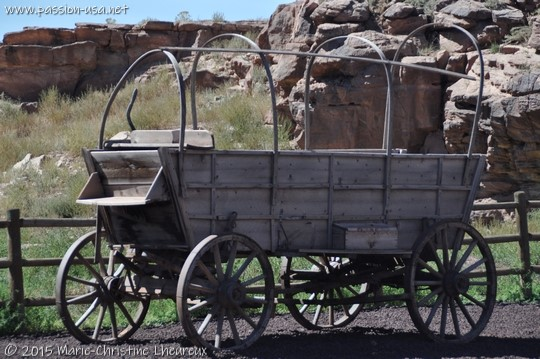 Wild West wagon, Chinle