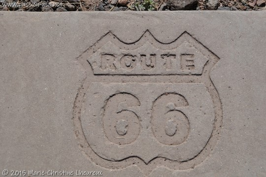 Route 66, Petrified Forest National Park
