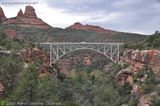 Midgley Bridge, route AZ-89A, Sedona, AZ
