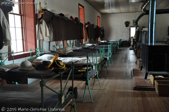 Enlisted men's barracks, Fort Davis National Historic Site