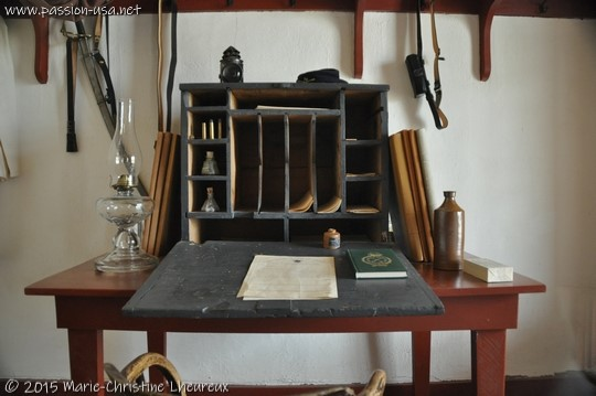 Non-commissioned officer's desk, Fort Davis National Historic Site