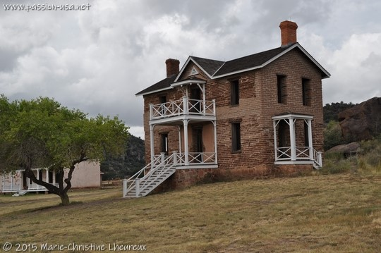 Officers' quarters, Fort Davis National Historic Site