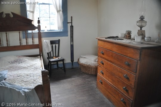 Inside an officer's house, Fort Davis National Historic Site