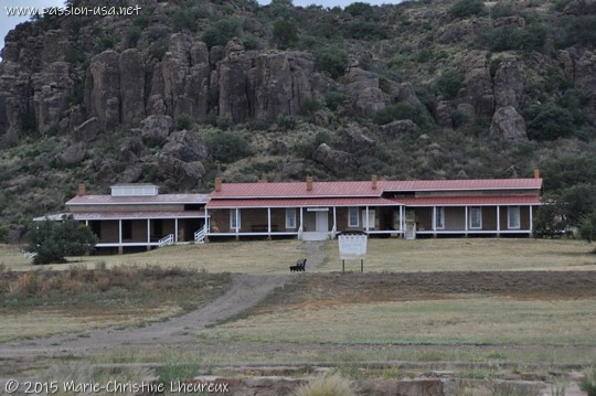 The hospital, Fort Davis National Historic Site