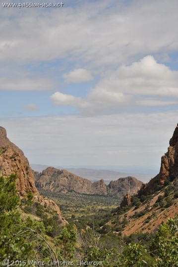 Lost Mine Trail, Chisos Basin, Big Bend National Park