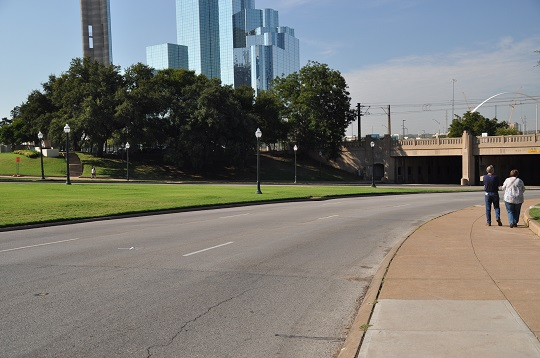 The place where JFK was assassinated, Dallas