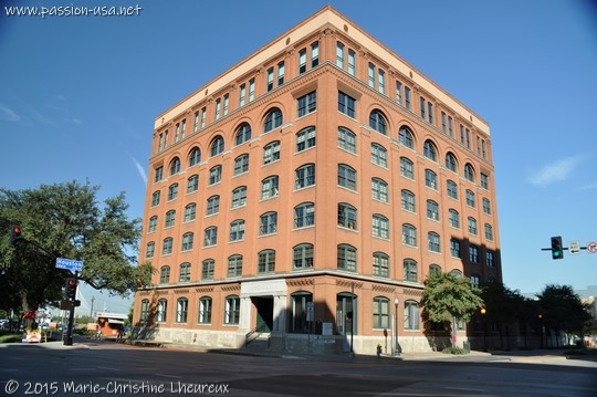Texas Schoolbook Depository, where Oswald was posted, Dallas, TX