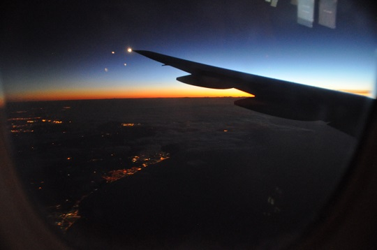 Sunrise above Britain