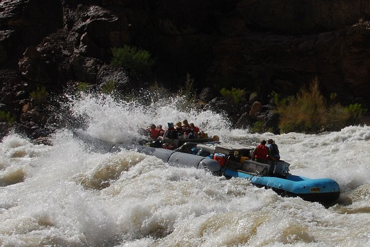 westwater canyon rafting 540